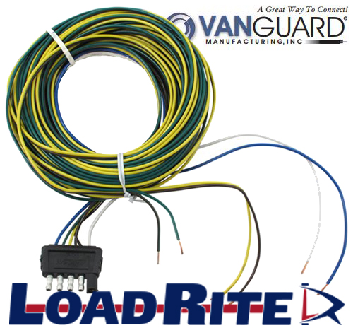 5 FLAT TRAILER WIRING HARNESS - 33' | Load Rite Trailers | Pwc Wiring Harness |  | Load Rite Trailers