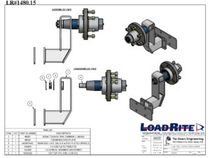 IMPORTANT: ABOVE IMAGE IS 6-BOLT ASSEMBLY*(IMAGE OF 5-BOLT ASSEMBLY, UNAVAILABLE)*