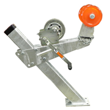 large-diameter-polyurethane-winch-rollers
