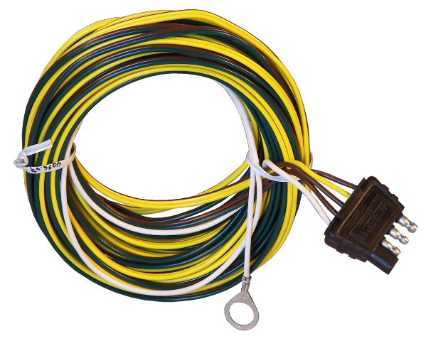 p 17861 4 way trailer wiring harness 22' load rite trailers 4 pin 5 wire trailer wiring diagram at bayanpartner.co