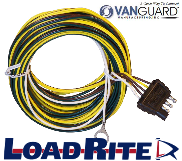 4 WAY TRAILER WIRING HARNESS – 22′ Wiring Harness Boat on