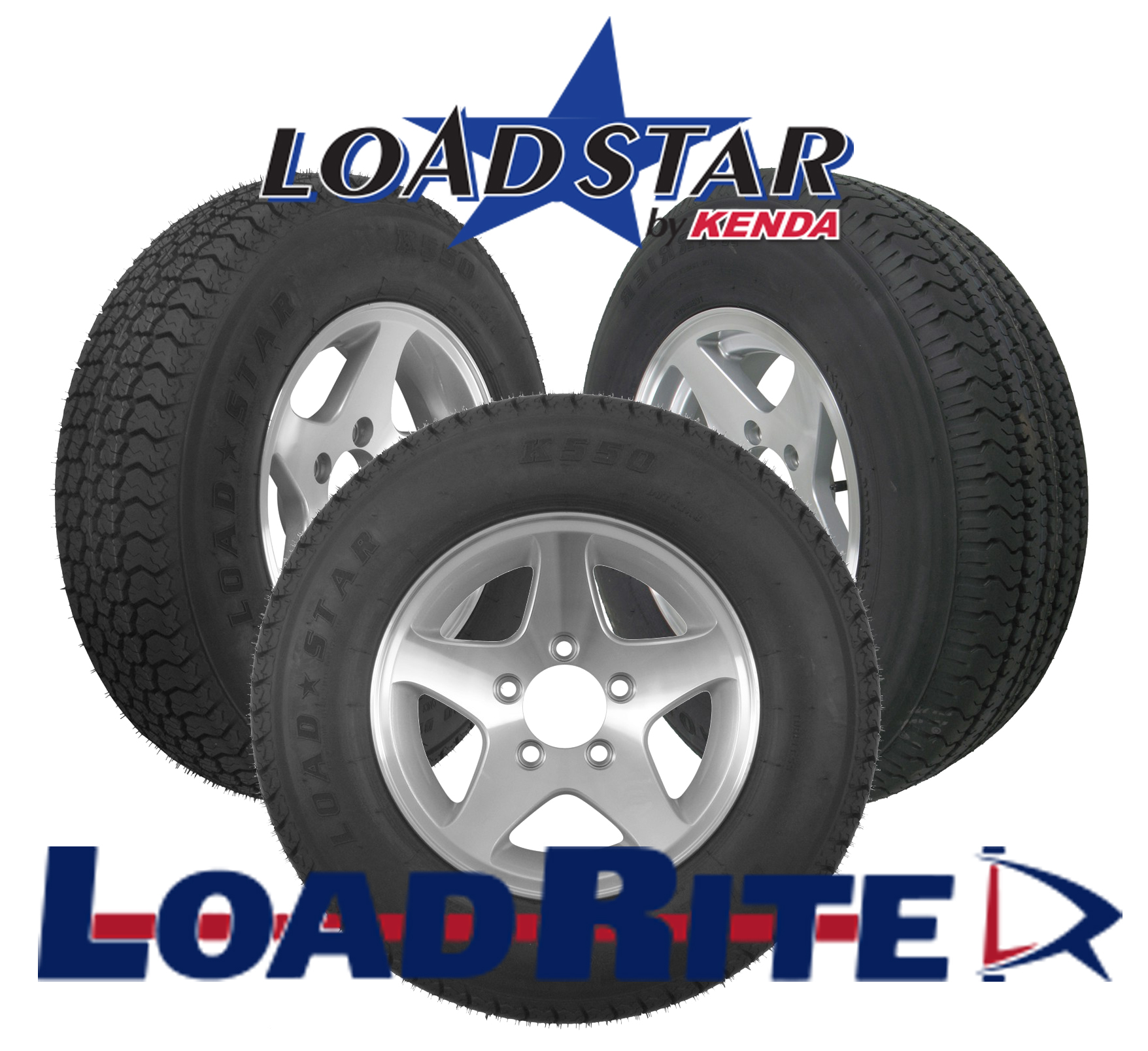 Bias Ply Tires >> Aluminum Bias Ply Wheel Tire Assembly Load Rite Trailers